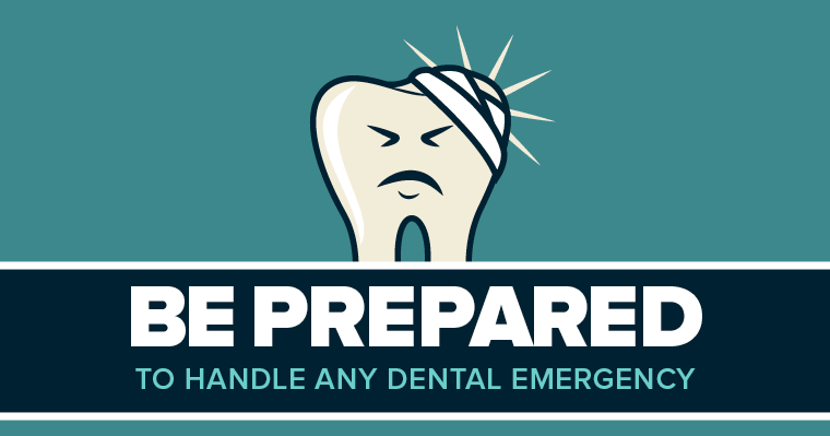 Learn how to handle common dental emergencies