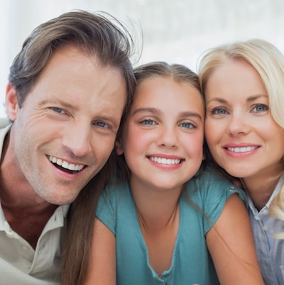 Image of a family who visit our Dentist in Anchorage Dr. Maloney