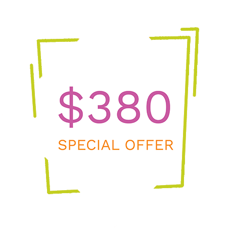 New patient special badge from your dentist in Anchorage