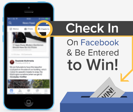 Check in to Win!